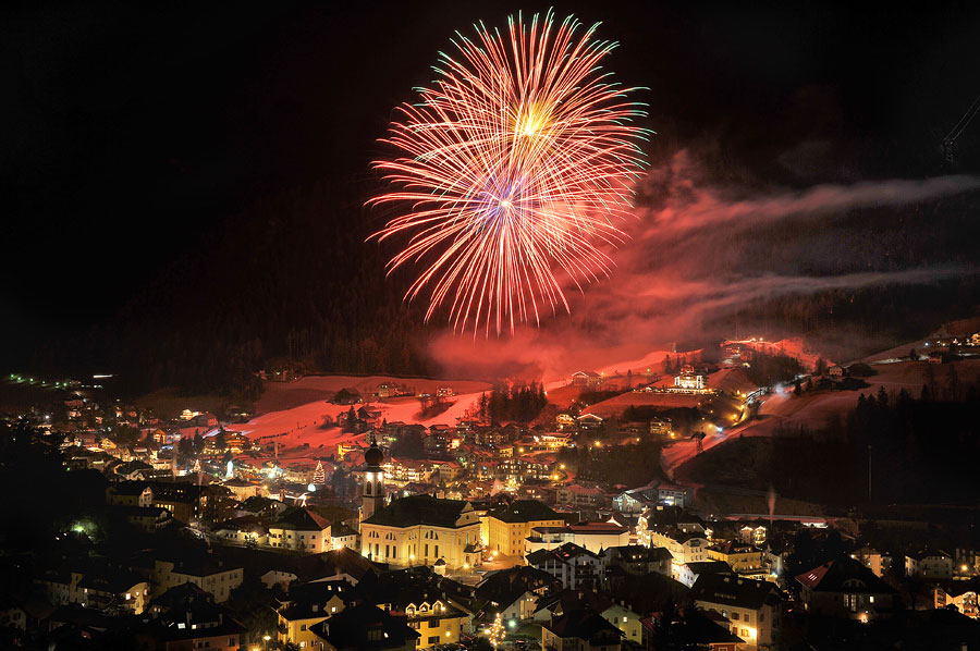 New Year's Eve a Ortisei