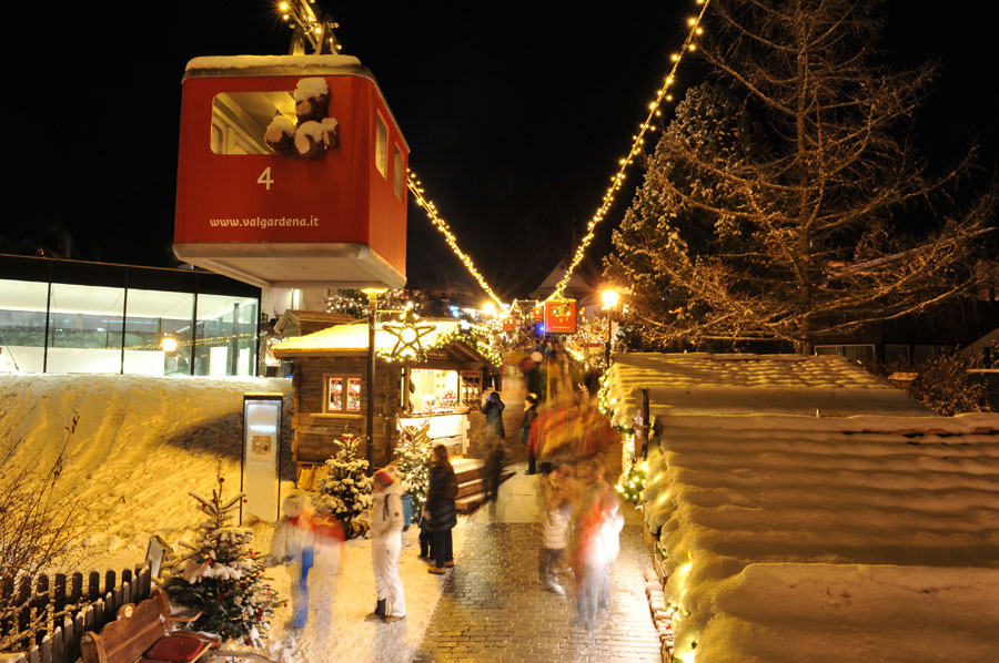 Christmas markets in Val Gardena